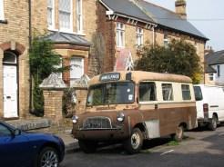 1960's Bedford CA ambulance