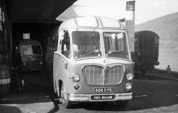 1961 Bedford C5 with a Duple coach body