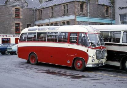 1961 Bedford C5C1 with Duple C29F bodywork.