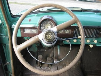 1961 Moskvitch 407 Steering Wheel