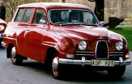 1961 SAAB 95 De Luxe