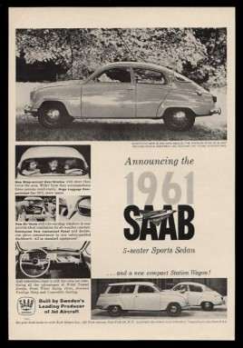 1961 Saab 96 95 station wagon 6