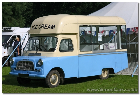 Bedford CA MkII Ice Cream Van. This is probably a conversion by Morrison Whitby