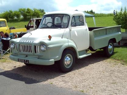 1962 Bedford JI Pick-Up Engine 3519cc Registered 9205 TJ