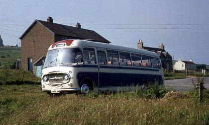 1962 Bedford SB3 with Plaxton Embassy C41F bodywork