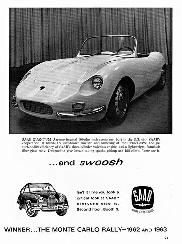 1962 Saab Quantum III ad