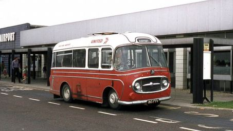 1963 Bedford J2SZ10 with Plaxton C16F bodywork