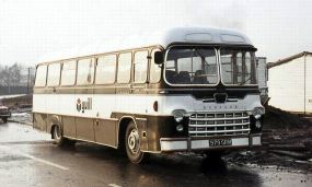 1963 Bedford SB from about with Yeates Pegasus bodywork.