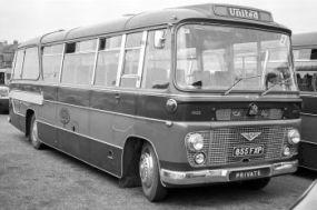 1963 Bedford SB8 Duple Bella Vega (C41F)