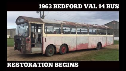1963 BEDFORD VAL 14 TWIN STEER NORTH WESTERN BUS