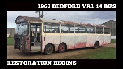 1963 BEDFORD VAL 14 TWIN STEER NORTH WESTERN BUS