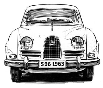 1963 Saab S96