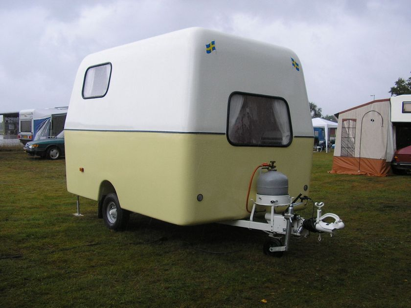 1964-1968 SAABO travel Trailer-Caravan