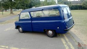 1964 Bedford CA Martin Walker 2 bed camper van rolling project