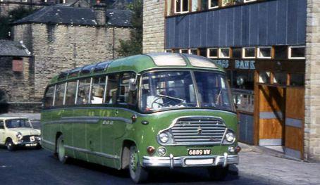 1964 Bedford SB Duple Yeoman C41F
