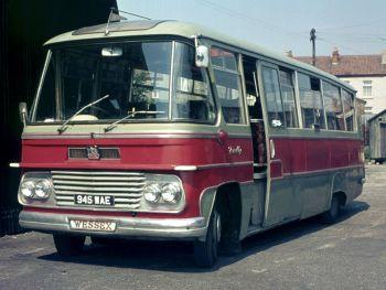 1964 Bedford SB5 Duple Firefly (C41F)