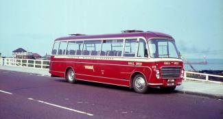 1964 Bedford SB5s with Plaxton Embassy III C41F bodywork