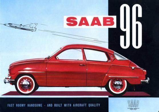 1964 SAAB 96 brochure a