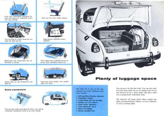 1964 SAAB 96 brochure f