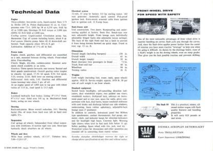 1964 SAAB 96 brochure h