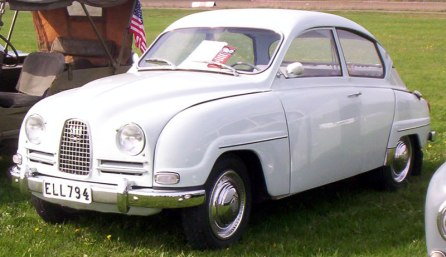 1964 SAAB 96 De Luxe 2-Door Sedan