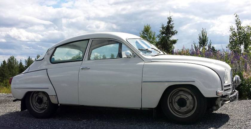 1964 Saab 96 Sedan – two-stroke