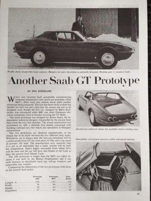 1964 Saab Catherina g