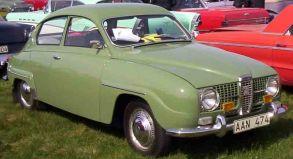 1965 SAAB 96