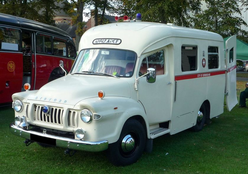 1966 Bedford J1 Ambulance