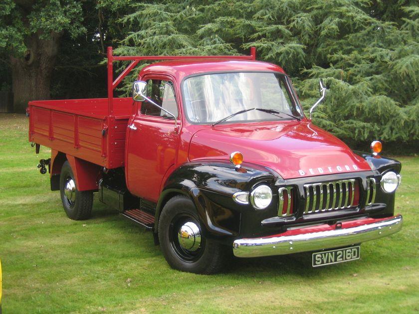 1966 Bedford TJ tipper truck