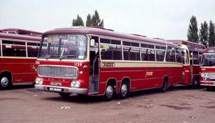 1966 Bedford VAL14 with a Duple Vega Major body