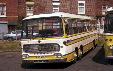 1966 Bedford VAL14 with Duple Vega Major C52F bodywork
