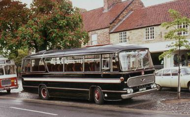 1966 Bedford VAM with Duple Bella Ventura C45F bodywork