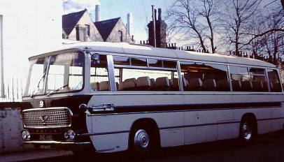 1966 Bedford VAM5-Duple Northern C45F bodied