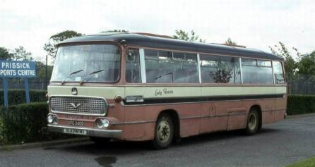 1966 Bedford VAM5 with Duple Viscount C45F bodywork