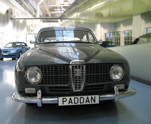 1966 Saab 99 Paddan (The Toad) front