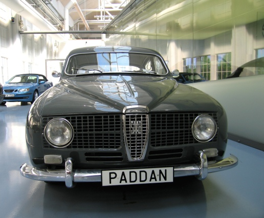 1966 Saab 99 Paddan (The Toad) front