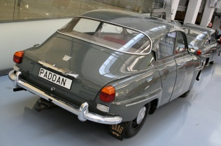 1966 Saab Paddan (The Toad) back
