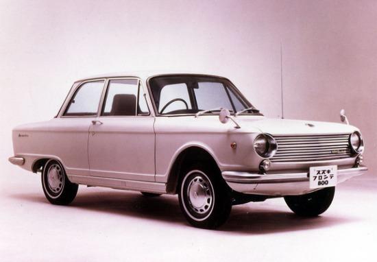 1966 Suzuki Fronte 800 (C10) 1965–69