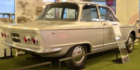 1966 Suzuki Fronte 800 rear