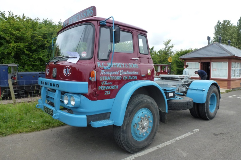 1967 Bedford KM tractor unit still active