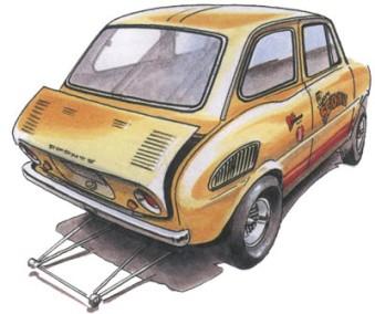 1967 Suzuki Fronte SS