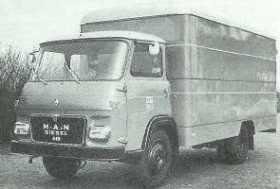 1968 Alfa Romeo A38n a MAN 485 (1970)
