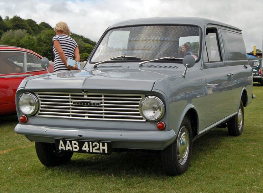 1968 Bedford HA Van, with the 1159cc engine