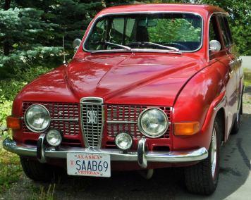 1969 Saab 95 R