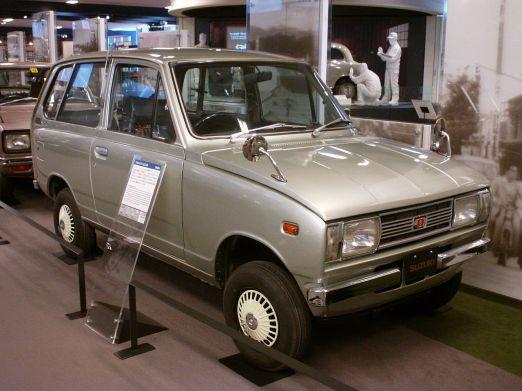 1969 Suzuki Fronte Van (LS10)