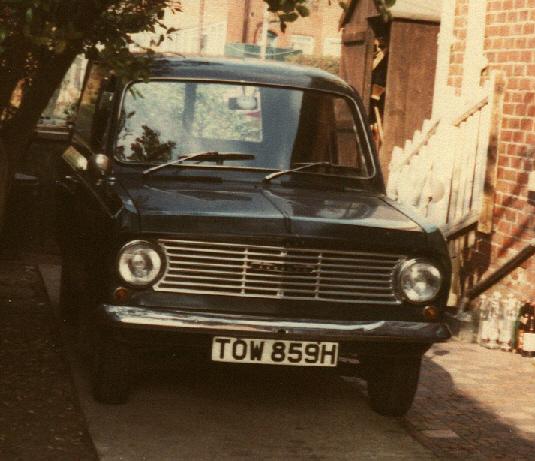 1970 Bedford HA van