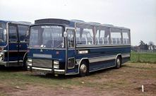 1971 Bedford VAM70 with Van Hool Vistadome C45F body