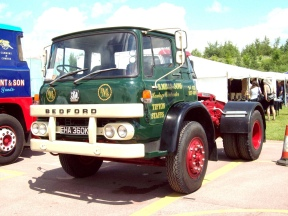 1972 Bedford KM Tractor Registered EHA 360 K