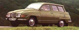 1972 Saab 95 Estate